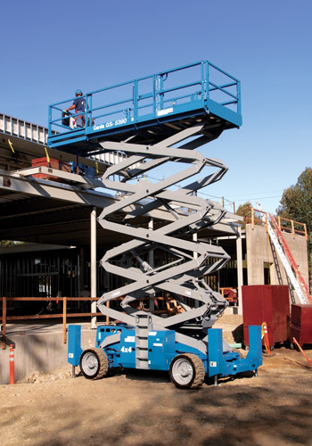 Genie-GS-5390-scissor-lift-elevation