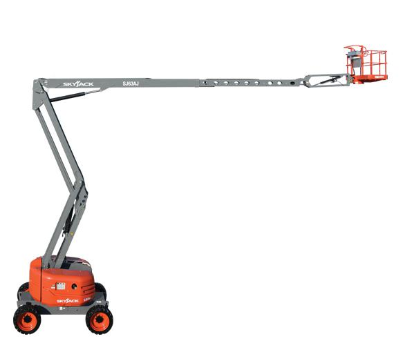Skyjack-SJ63-AJ-boom-lift-extension